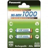 Panasonic BK-4HGAE/2BE 1000 mAh, AAA  2 ks