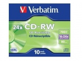 CD-RW Verbatim Ultra speed