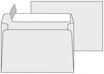 Obálka C5 samolepící s krycí páskou 1000 ks