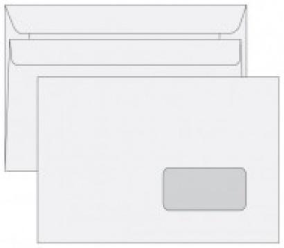 Obálka C5 okénková samolepící 1000 ks